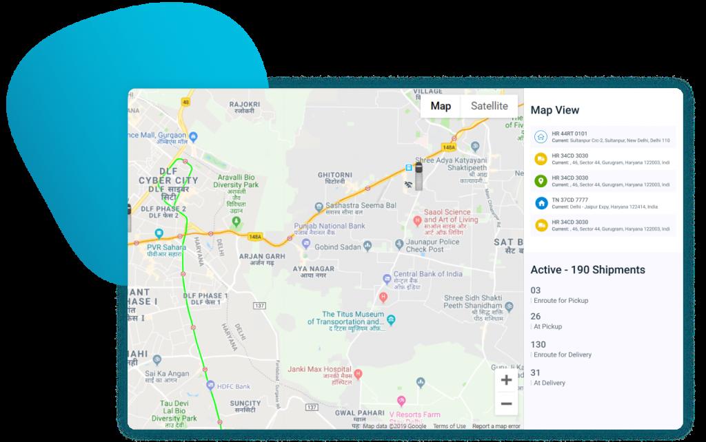 Fretron   Live Shipment Tracking Dashboard